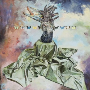 Flying Dust, 2012; Oil on canvas, 200x150cm
