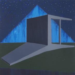 Forever•Starry Sky II, 2011.07; Acrylic on Canvas, 200×200cm