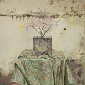 Garden of Peach Blossom, 2011; Oil on canvas, 100x80cm