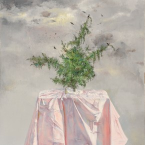 Gesso, 2011; Oil on canvas, 100x80cm