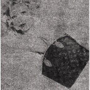 Kang Jianfei- Art as Media No.4, 2010; woodcut BFK handmade paper, 140CMX108CM
