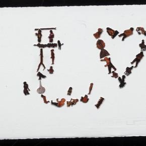 Kang Jianfei-Exhibition View of Guanlan Project, Questionaire 01, 2011