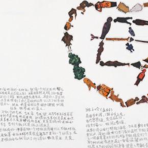Kang Jianfei-Exhibition View of Guanlan Project, Questionaire 02, 2011