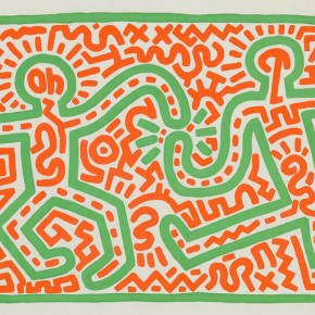 Keith Haring Studio, Untitled, 1983