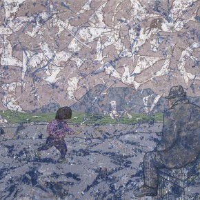 Kunming Series-Time, 2012; Acrylic on Canvas, 220×300cm