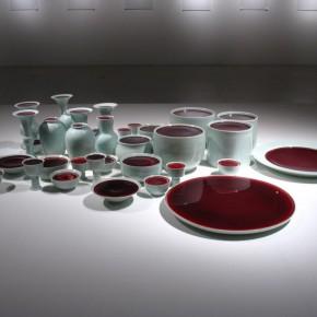 Liu Jianhua, Containers, 2009; Installation