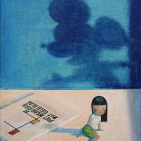 Liu Ye, Little Finger, 2000; 60x45.5cm