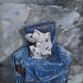 Sofa, 2010; Oil on canvas, 200×150cm