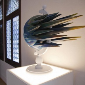 Stay Real, Last One, 2011; fiber glass and wood, 91x98x69cm