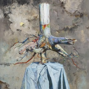 Waiting for the Phoenix, 2012; Oil on canvas, 200x150cm