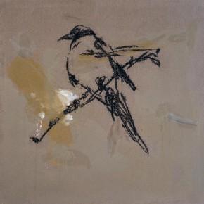 Ye Yongqing, Mid-Autumn, 2008; acrylic on canvas, 200×200cm