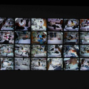 Zhang Peili/480'/0 Channel with 30 images video installation/color mute/2008
