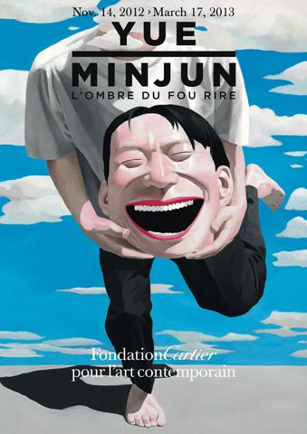 00 Poster of Yue Minjun: L'Ombre du Fou Rire