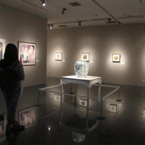 "01 Exhibition View of ""Folding: Wang Yanping Solo Exhibition (1992-2012)"""