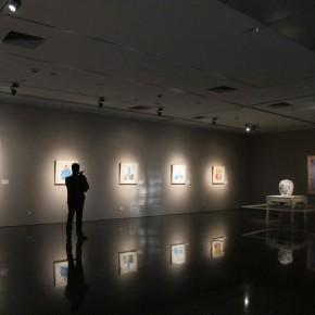 "02 Exhibition View of ""Folding: Wang Yanping Solo Exhibition (1992-2012)"""