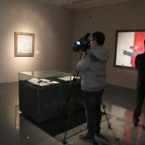 "04 Exhibition View of ""Folding: Wang Yanping Solo Exhibition (1992-2012)"""