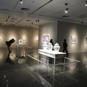 "05 Exhibition View of ""Folding: Wang Yanping Solo Exhibition (1992-2012)"""