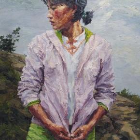 005 Xie Dongming's Work, 146x112cm