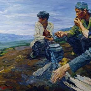 007 Xie Dongming's Work,130x190cm