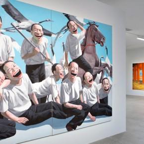 08 Exhibition View © Yue Minjun. Photo Grégoire Eloy