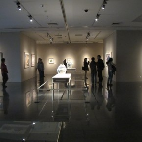 "08 Exhibition View of ""Folding: Wang Yanping Solo Exhibition (1992-2012)"""