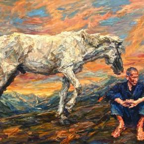 008 Xie Dongming's Work,130x190cm