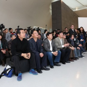 09 Honored Guests at the Opening Ceremony of On High: Works of Yu Fan
