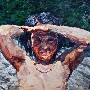 009 Xie Dongming's Work,130x190cm