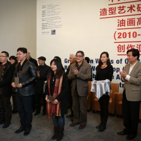 "10 Exhibition View of ""Graduation Works of Oil Painting Research Workshop (2010-2012) Organized by Fine Arts Research Institute, CAFA"""