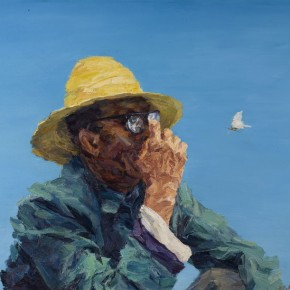 """113 Xie Dongming, """"Country Teacher"""", 2007; oil on canvas, 112×146cm"""