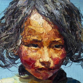 128 Xie Dongming's Work, 40x46cm