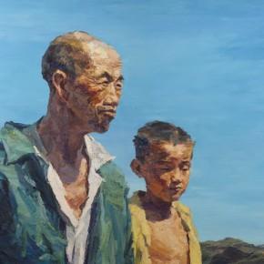 013 Xie Dongming's Work, 130x190cm