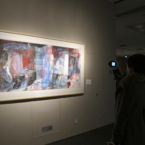 """15 Exhibition View of Folding Wang Yanping Solo Exhibition 1992 2012 290x290 - """"Folding: Wang Yanping Solo Exhibition (1992-2012)"""" Inaugurated Grandly at Art Museum of Beijing Fine Art Academy"""