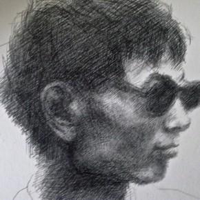 016 Xie Dongming's Work, 130x190cm