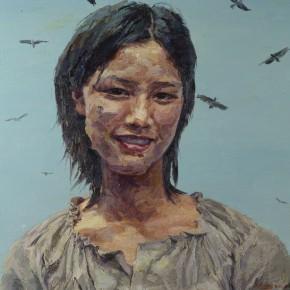 017 Xie Dongming's Work, 112x146cm