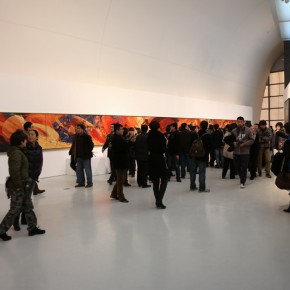 "19 Exhibition View of ""Graduation Works of Oil Painting Research Workshop (2010-2012) Organized by Fine Arts Research Institute, CAFA"""