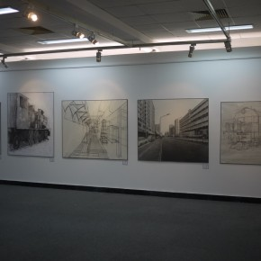 27 Exhibition View of Constructing a City by Dots and Lines
