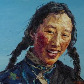 042 Xie Dongming's Work, 100x80cm