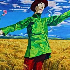 043 Xie Dongming's Work, 120x139cm