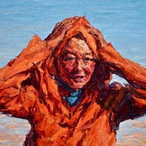"048 Xie Dongming, ""Girl on the Prairie"""