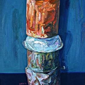 "080 Xie Dongming, ""Still Life""; 130x190cm"