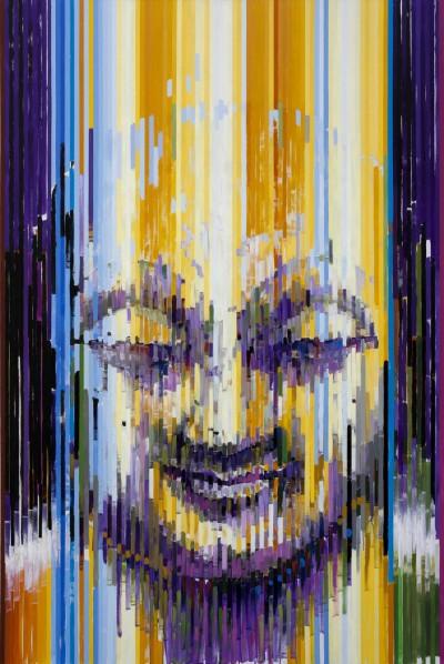 Buddha 3, 2012; Acrylic on canvas, 300x200cm