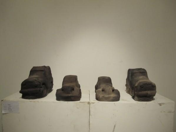 Geng Sen, Years; ceramics, 32×12×15cm