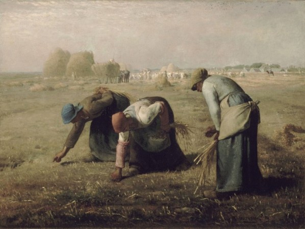 Gleaners, also called, The Gleaners 1857