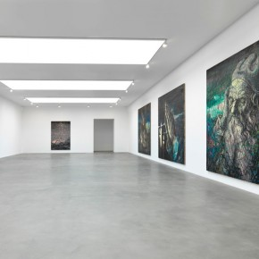 "Installation view of ""Zeng Fanzhi"" 04; Photo by Mike Bruce"