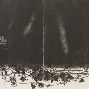 "NAKABAYASHI Tadayosh, ""Dislocation II"", 2009; Cooperplate Etching, 65.6x100cm"