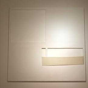 Painting is painting is painting is painting is …frame Bianca Lei Sio Chong 160 x 160 x 8 cm Acrylic on canvas 2012