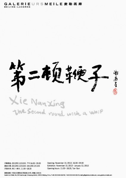 Poster of Xie Nanxing, The Second Round with a Whip