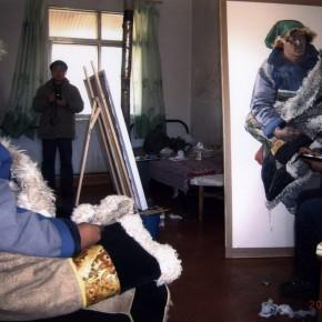 Worksites where Wu Changjiang did his Sketching at Maixiu Qinghai in 2010 02 290x290 - Wu Changjiang