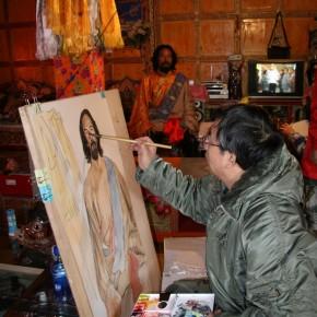 Worksites where Wu Changjiang did his Sketching at Yajing Sichuan where Tibetan People live in 2010 01 290x290 - Wu Changjiang